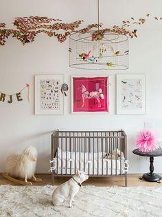 Whimsical nursery - eclectic - nursery - c magazine