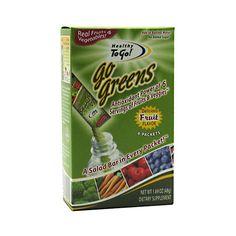 To Go Brands Go Greens - 6/1.69oz
