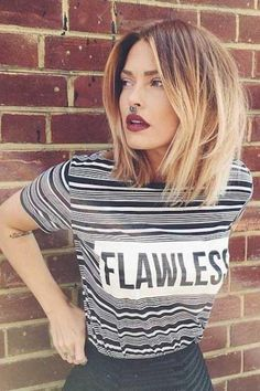 Mechas californianas e ombré hair: muitas fotos para inspirar! Hair Styles 2016, Medium Hair Styles, Short Hair Styles, Hair Medium, Medium Blonde, Summer Hairstyles, Cool Hairstyles, Hairstyle Ideas, Fashion Hairstyles