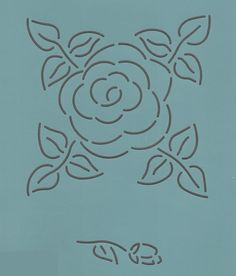 "Roses 6"" - The Stencil Company                                                                                                                                                      More"