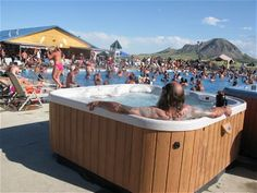 Ahhh, this is the life... Sturgis Motorcycle Rally 2010 at Full Throttle Saloon