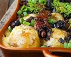 Pommes de terre farcies forestières (facile, rapide) - Une recette CuisineAZ