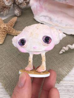 Marina the Seashell Art Doll