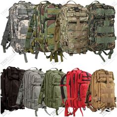 Military Outdoor Tactical Molle Backpack Camping Hiking Survival Rucksack in Sporting Goods, Outdoor Sports, Camping Molle Gear, Molle Backpack, Backpack Bags, Backpack Camping, Airsoft Gear, Outdoor Survival Gear, Outdoor Gear, Survival Kits, Military Gear