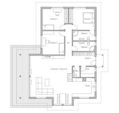 Small House Plan CH146 from ConceptHome.com