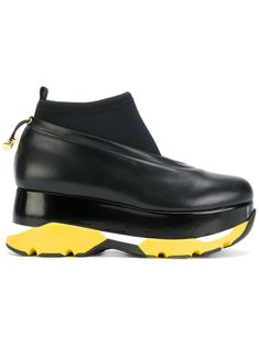 33b40eb06541 Marni platform sneakers Marni Shoes, Black Leather Sneakers, Platform  Sneakers, Shoes Sneakers,