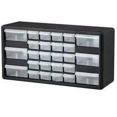 Only $27 to help organize crafts!! 26 Combo Drawer Small Parts Storage Cabinet-10126 at The Home Depot