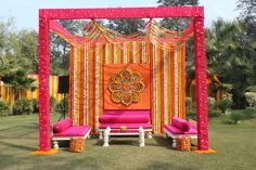 Wedding Decorations Indian Backdrops Decor Best Ideas The Effective Pictures We Offer You About wedding ceremony decorations minimalist A quality picture can tell you many things. You can find the Desi Wedding Decor, Wedding Hall Decorations, Indian Wedding Ceremony, Wedding Mandap, Backdrop Decorations, Wedding Stage, Wedding Cars, Haldi Ceremony, Wedding Bed