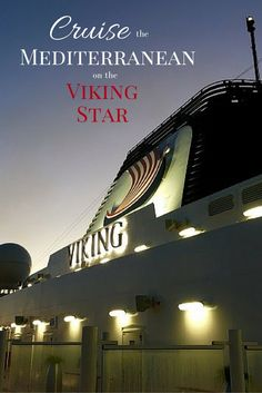 Backroad Planet | 18 Reasons to Cruise the Mediterranean on the Viking Star | http://backroadplanet.com