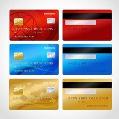 Find Realistic Credit Cards Set Isolated Vector stock images in HD and millions of other royalty-free stock photos, illustrations and vectors in the Shutterstock collection. Paper Toys, Paper Crafts, Credit Card Design, Diy Doll Miniatures, Barbie Dolls Diy, Paypal Gift Card, Free Gift Cards, Diy Dollhouse, Credit Cards