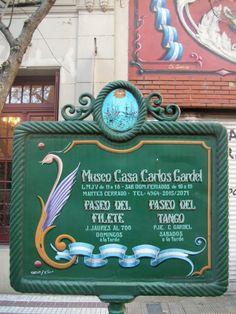 MUSEO CASA DE CARLOS GARDEL CALLE JEAN JAURES 735 BUENOS AIRES
