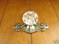 Sonoma Cabinet Hardware Roman Knob Brushed Satin Nickel with fleur-de-lis Backplate Cabinet Knobs, Cabinet Hardware, Nickel Finish, Brushed Nickel, Georgia Homes, Kitchen Cabinets In Bathroom, Furniture Knobs, Home Accessories, Small Bathroom