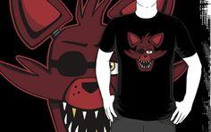 =======Shirt for Sale======= Foxy Head by Kaiserin ======================= #freddy #fnaf #fnaf2 #fnaf3 #fivenightsatfreddys #foxy #chica #bonnie #securityguy #mangle #logo #goldenfreddy #shadowbonnie #toybonnie #toychica #endoskeleton #toychica #puppet #goldenbonnie