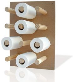 toilet paper holder---looks like what we need at our house!