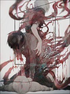 Tokyo ghoul, and kaneki Manga Anime, Anime Body, Manga Art, Anime Art, Manga Tokyo Ghoul, Ken Kaneki Tokyo Ghoul, Fanart, Anime Quotes Tumblr, Fan Art