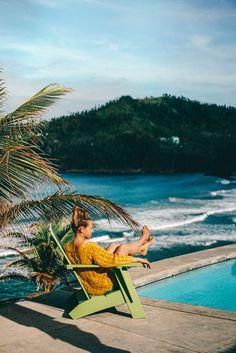 Hotels am Meer – die schönsten 7 Hotels mit Meerblick Hotel Am Meer, Hotel In Den Bergen, Pool Houses, Outdoor Furniture, Outdoor Decor, Wood Art, Touring, Masterplan, Viajes