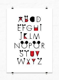 Mickey Font On Behance