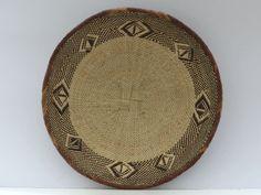 Large 42cm 16 1/2 Handmade Binga Basket African