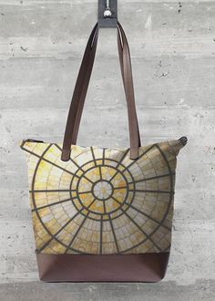 VIDA Statement Bag - BirchBark Tote by VIDA KfXBn