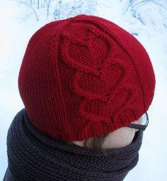 Rakkaudella sinun pattern by Tiina Kuu Valentine Hats, Hipster Hat, Knitting Patterns, Crochet Patterns, Knit Crochet, Crochet Hats, Diy Hat, Thread Work, Beanie Hats