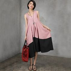 material :100% linen loose fitting style, one size Bust : 96 cm Length :100 cm