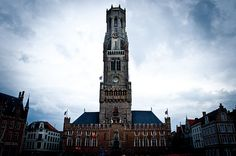 Belfort Tower, Bruges, Belgium. Climbed to the top!