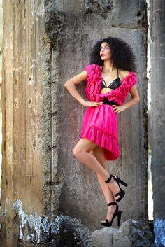 Magenta Impulse - Simonity Magenta, Strapless Dress, Shoulder Dress, Dresses, Fashion, Strapless Gown, Vestidos, Moda, Fashion Styles