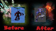 Эволюция героя Riki от Dota Allstars до Dota 2
