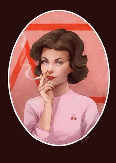 """""""I'am Audrey Horne and I get what I want."""" Helena Mischenko © 2017"""