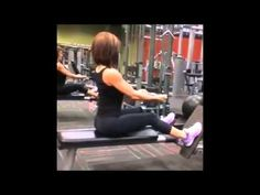 KATY HEARN Fitness Model: Upper Body Workout Arms, Chest and Back Exerci...