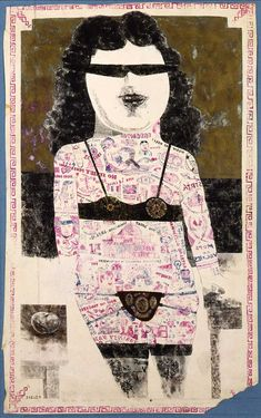 """Garth Greenan Gallery will be presenting Peter Blake's """"The Artist& Studio"""" from April 11 through May Peter Blake Artist, Thing 1, Popular Art, London Art, Portrait Art, Portraits, French Artists, Life Drawing, Collage Art"""