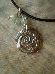 Floating Mermaid Necklace $48
