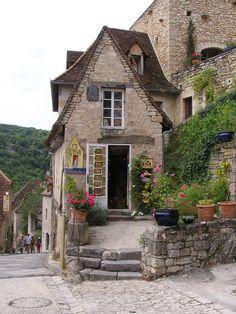 Casa Medieval de Rocamadour Francia