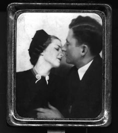 Vintage Photobooth - 1920 (he might be a bit grabby...)