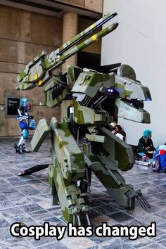 Badass Metal Gear Rex cosplay