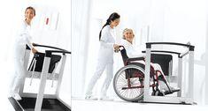 Wielofunkcyjna waga najazdowa do ważenia pacjenta w pozycji siedzącej, stojącej lub na wózku inwalidzkim.  Bezpieczna waga z rozkładanym siedziskiem polecana szczególnie w placówkach zdrowotnych opiekujących się osobami starszymi lub pacjentami z ograniczeniami ruchowymi.  Medyczna, legalizowana waga do zastosowania w placówkach służby zdrowia, szpitalach.  GWARANCJA 2 lata