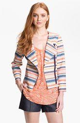 Trina Turk Beatrix Woven Jacket