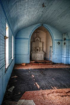 Abandoned Church, by yakkhapadma