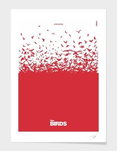 """""""The Birds"""", Numbered Edition Affiches d'art by Rahma Projekt - From 25,00€ - Curioos"""