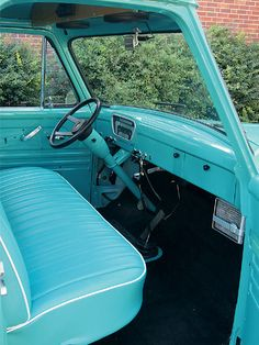 Read about Russell Post's 1955 Ford with a HEI Ignition and 350 Small Block Engine, only at Classic Trucks Magazine. 1956 Ford Pickup, 56 Ford F100, Ford Pickup Trucks, Vintage Trucks, Old Trucks, Classic Trucks Magazine, Wrecking Yards, Old Pickup, Chevy Van