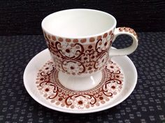 A personal favorite from my Etsy shop https://www.etsy.com/listing/239020231/ali-pattern-coffee-cup-and-saucer-by