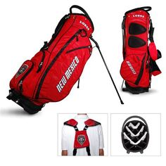 NCAA New Mexico Fairway Stand Bag by Team Golf. Buy now @ ReadyGolf.com