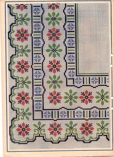 Albüm Arşivi Bobble Stitch, Cross Stitch Patterns, Cross Stitch Borders, Cross Stitch Flowers, Cross Stitch Designs, Cross Stitch Charts, Cross Stitching, Embroidery Stitches, Embroidery Patterns Free