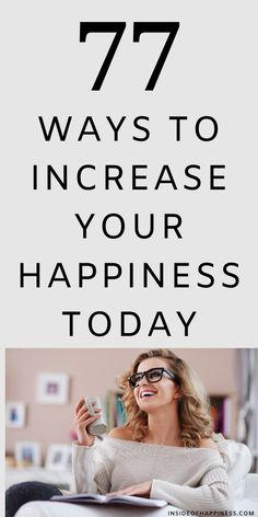 Happiness is in the simplicity, so here are 77 simple tiny things you could do today to increse your happiness. How To Become Happy, Tips To Be Happy, Just Be Happy, How To Be A Happy Person, Self Love Quotes, Mood Quotes, Happy Quotes, Romance Quotes, Wife Quotes