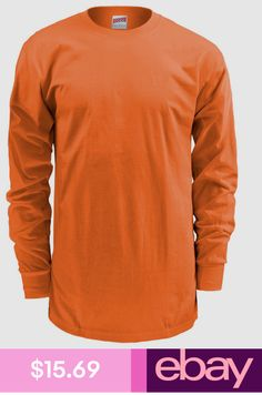 2b7e69f15341 T-Shirts Soffe Men s Cotton Midweight Long Sleeve Taped Crewneck T Shirt.