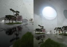 three museums and one square, guangzhou, christian kerez