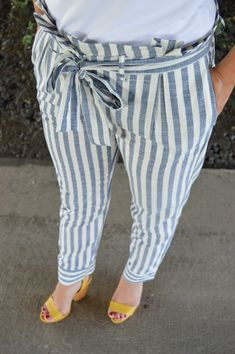 Striped Trousers | summer fashion