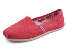 Discounted TOMS: Women Red Multi Red Multi Toms Shoes $19