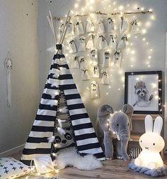 mommo design: A FESTIVE TOUCH IN THE KID'S ROOM