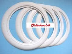 Volkswagen (1 set of4 ) 15 inch port-a-wall White Wall inserts Free ship via DHL
